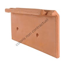 Right hand independent cloaked verge tile Monopole N1/ARTOISE/TENORD