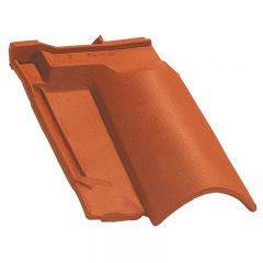 Under ridge tile OMEGA 10 Natural Red