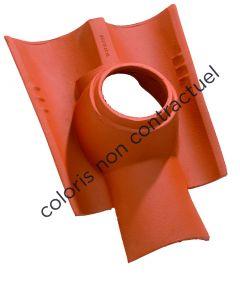 Pipe collar tile CANAL 160 Terroir