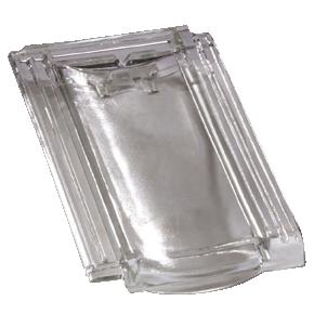 Tuile en verre H 10 Huguenot